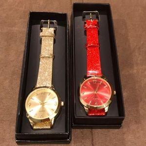 Avon Glitter Watch Combo